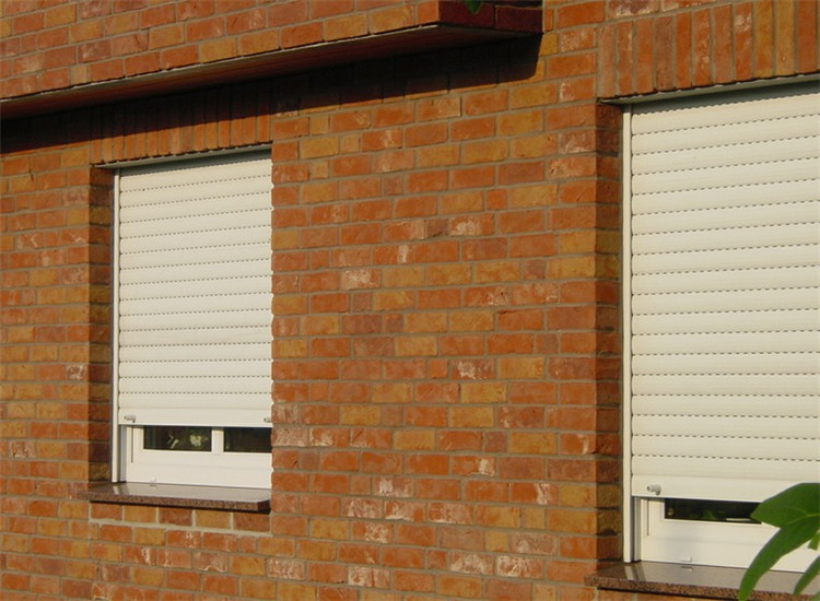 Roll down shutter roller shutter exterior window fuyang buy roller shutter exterior window for Roll up window shutters exterior