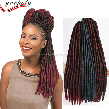 Hot Ing Synthetic Braiding Hair Extension Soft Dread Nina Softex Curly Braid For Black Women