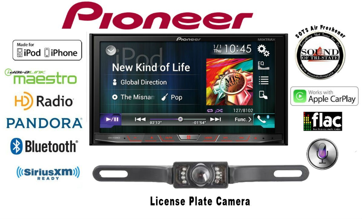 Cheap Pioneer Dvd Double Din Find Deals On Avh 4100 Wiring Diagram Color Get Quotations 4100nex In Dash 7 Cd Receiver With Crime Stopper