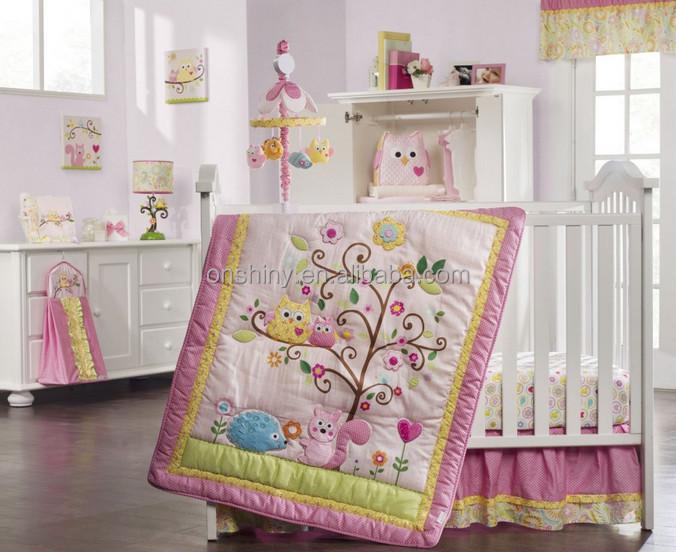 colorful niza bho bordado juegos de cama cuna para beb
