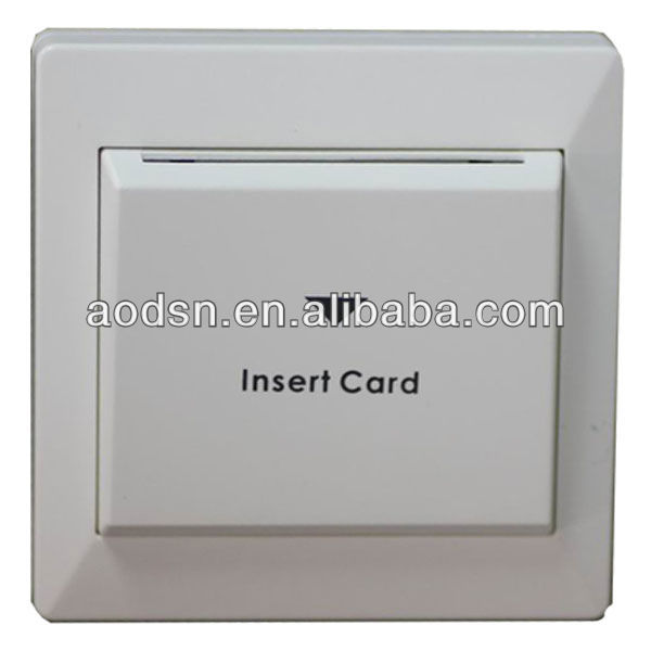 AODSN electric power hotel energy saving key card switch