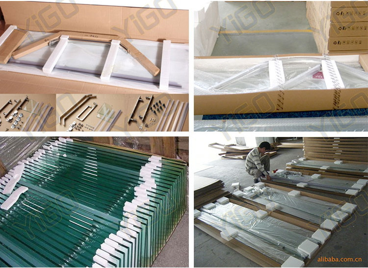 Bullet Proof Curtain Wall System / High Performance Spider Glass ...