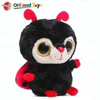 Big Eyed Ladybug Stuffed Animals Soft Cute Plush Toys - Buy ... 26680dc512fc