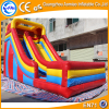 High quality CE 0.55mmPVC colorful inflatable big water slides for sale