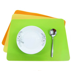 100% food grade silicone table mats for kids