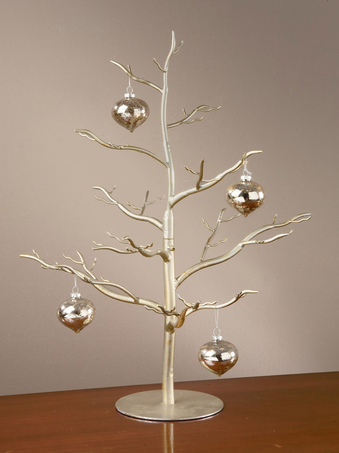 Buy Wood Ornament Display Stand - Ornament Tree / Holder ...