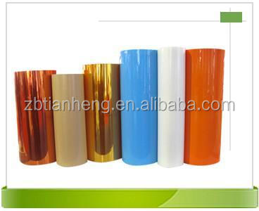 Metalize gold PVC , plastic PVC sheet thermoform/vacuum forming