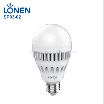 Lonen E27 Or B22 12 Watt Led Light Battery Powered Emergency Led