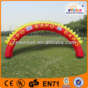 Inflatable rainbow door,advertising archway,inflatable arch