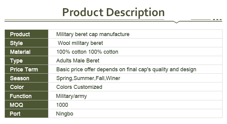 8c14664a71926 New WOOL Mens Ladies Black Beret Hat Cap Army Military - Fashion or Fancy  Dress