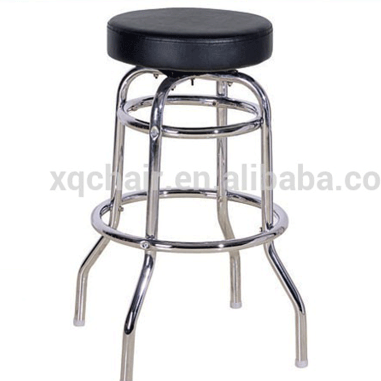 High Four Legs stools, bar stool parts,Stainless Steel Bar Stool
