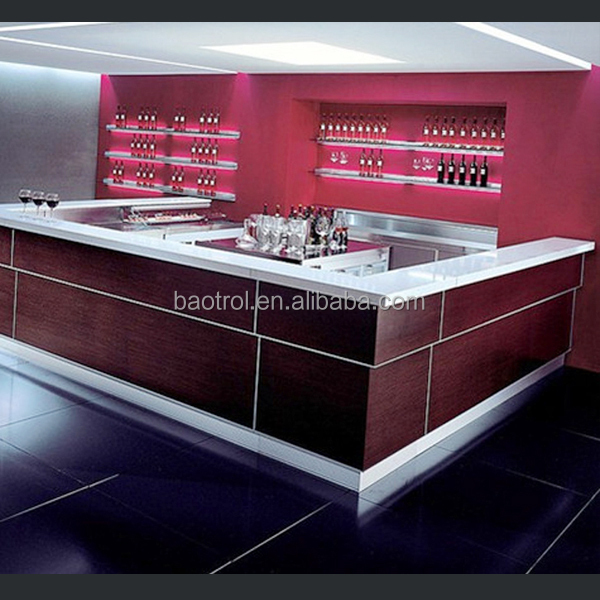 Hottest furniture bar counters design kitchen and restaurant bar ...