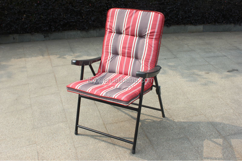 Interesting Padded Folding Lawn Chairs Aluminum Rocking Chair Cushion A To Decor