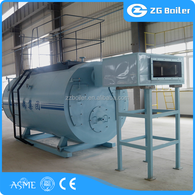 Best service 5000kgs/hr 12.5bar oil gas steam boiler