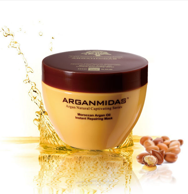 World best selling keratin hair mask argan oil hair mask for shining hair