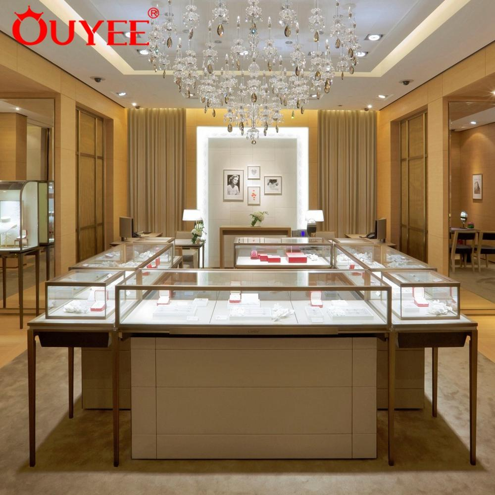 Luxury jewellery shops interior design images high quality display furniture for jewelry store