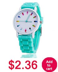 8 צבעים חמים למכור סיליקון ג ' נבה שעונים אופנה שרשרת שעון נשים שמלת שעוני נשים שעוני יד BW-SB-1173