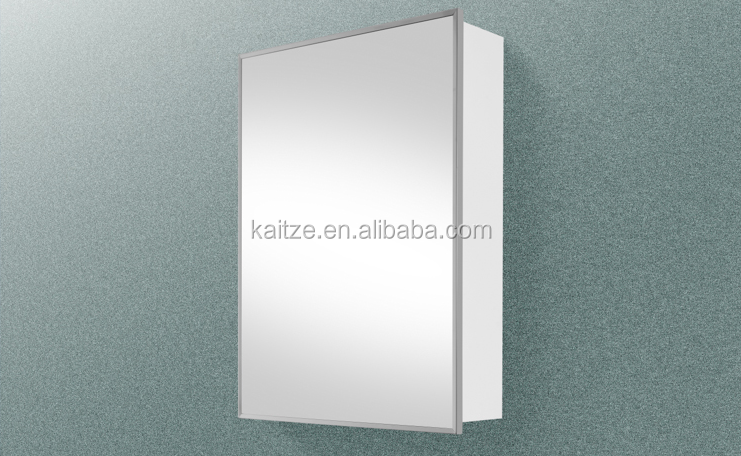 cheap powder coating stainless steel bathroom cabinet wall mount