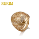 R18006 Xukim 18K Gold Hot Sale Classic Alloy Jewelry Rings