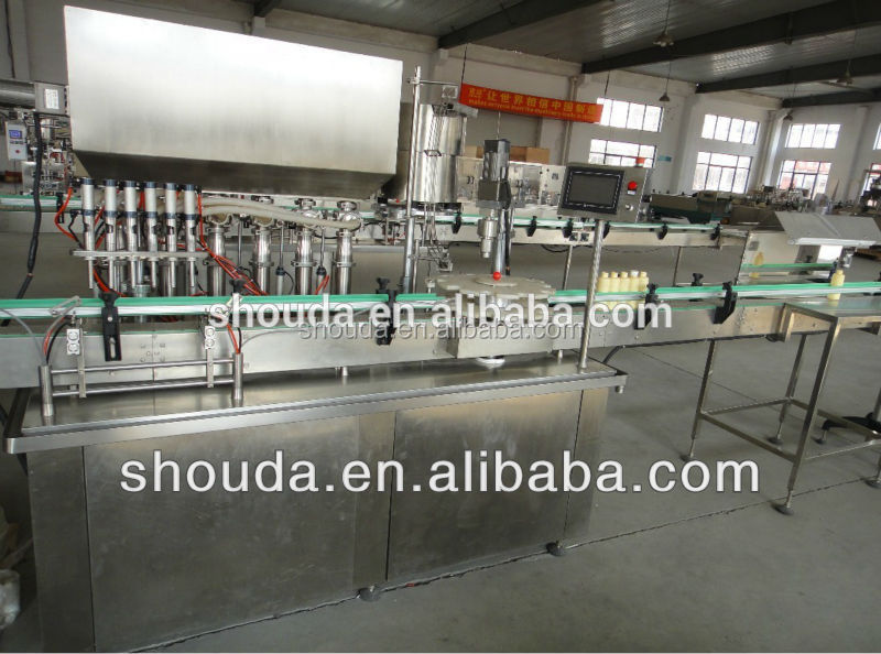 Automatic Tableware cleaner/Dish Drops/Liquid Detergent filling machine