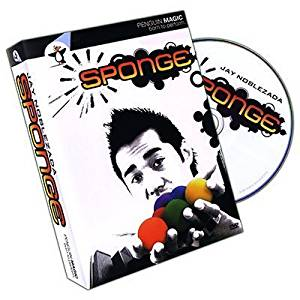 Magic DVD: Sponge (DVD and 4 Sponge Balls) by Jay Noblezada
