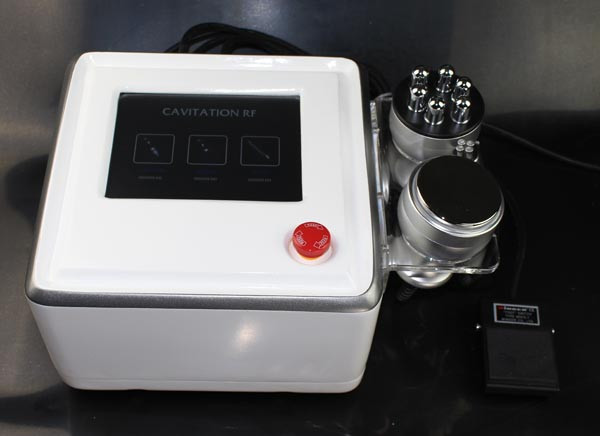 Beauty Equipment Loss Weight Radio Frequency Cavitation Machine For Home / Clinic / Spa Use