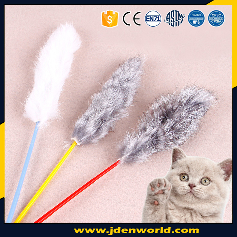 favorite motorized mechanical climbing wand feather cat toys
