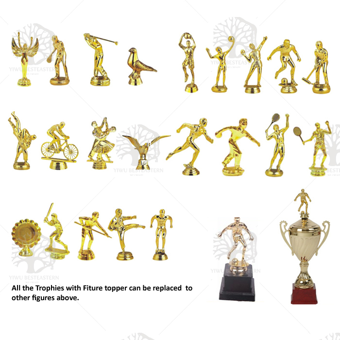 Souvenir high quality Cheap World Cup trophy Replica metal trophy