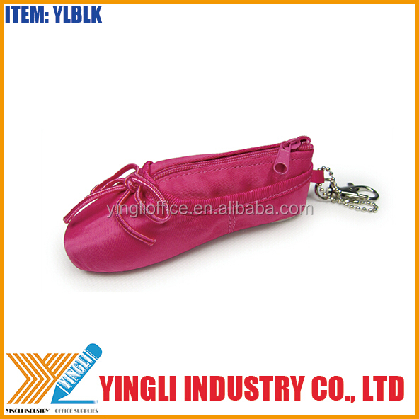 Hot selling Factory manufacturer Ballet shoe coin purse for girls