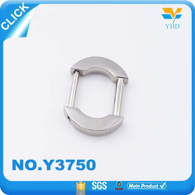Nickle free fashion new design metal hangbang square ring