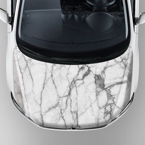 new arrival thick material vinyl stickers car hood decorative white marble vinyl wrap self adhesive vinyl sheets