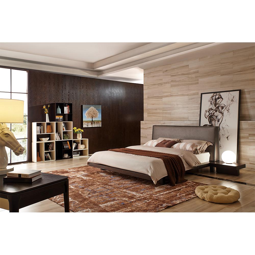 Simple Design Modern Leather Back Brown Bedroom Furniture Modern - Buy  Bedroom Furniture Modern,Brown Bedroom Furniture Modern,Leather Back Brown  ...