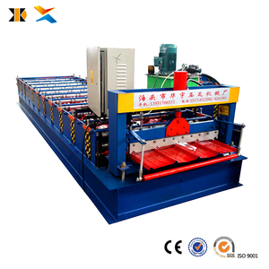 Tile roofing machinery production line used metal roof panel roll forming machine