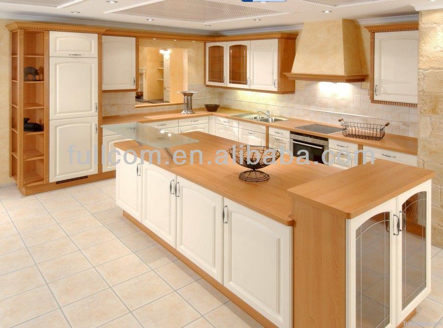 De alta calidad de estilo moderno de pvc gabinetes de la for Estilos de gabinetes de cocina modernos