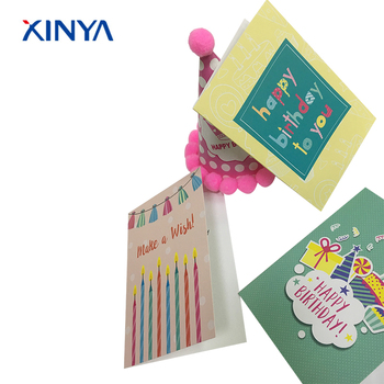 Beautiful Birthday Cards Stock Paper With Envelope Package