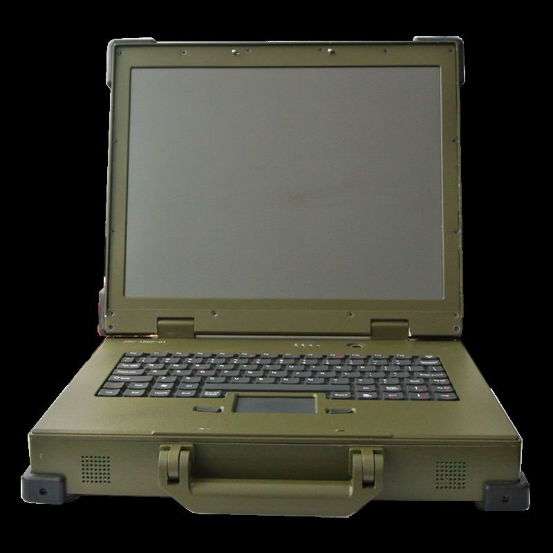 Rugged Portable Computer Sunlight Readable Military Laptop Product On
