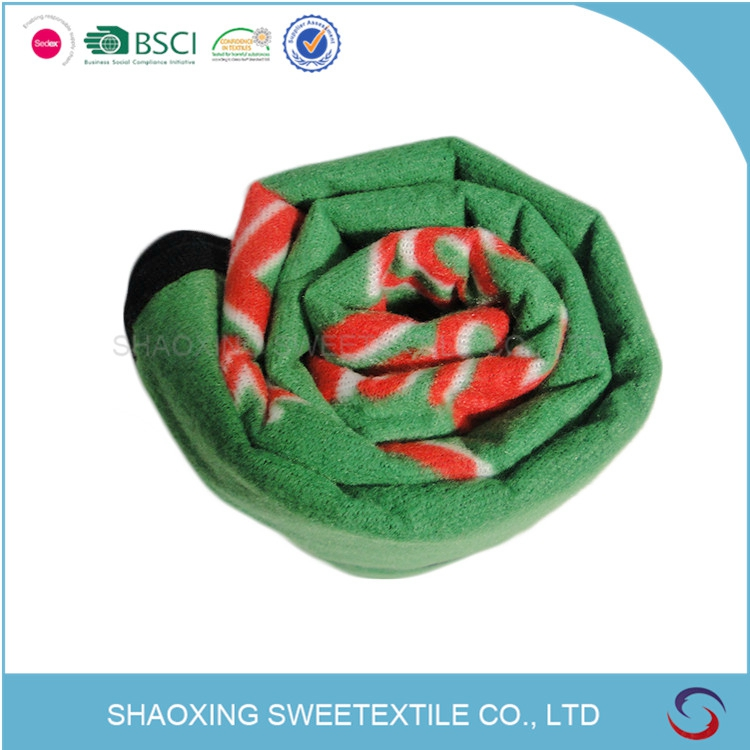 New Product Super Soft Roll Up Fleece Blanket