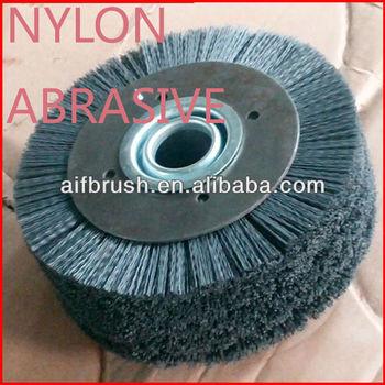 China Mini Nylon Abrasive Bristle Brush Roller Brush Abrasive Flap ...