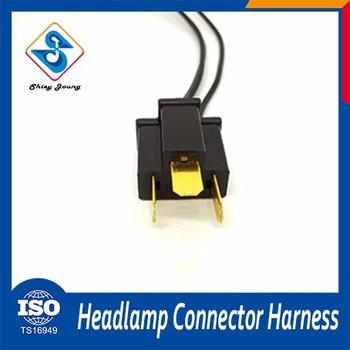 Professional Auto Headlamp 3 Pin Automotive Wire Harness - Buy ...
