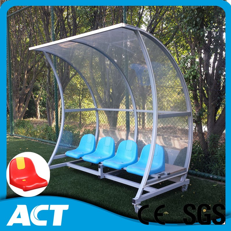 China Outdoor portable Substitute Bench for football and basketball, soccer player bench