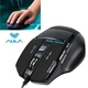 Wholesale Cheap AULA Series High Speed Wired 7D Gaming Optical Wired Mouse with 800 / 1200 / 1600 / 2000 DPI