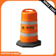 Bright Orange Color HDPE Plastic Traffic Barrel