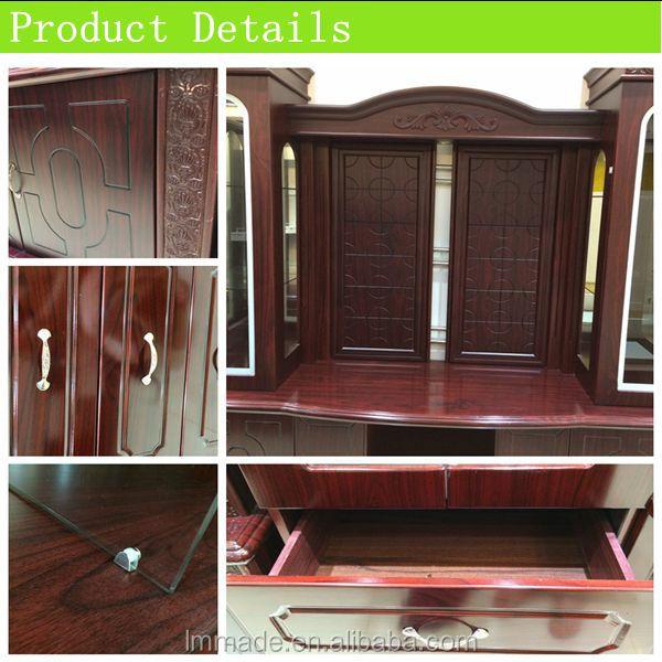 2015 hot wooden living room tv showcase designs buy tv for Wooden showcase designs for living room