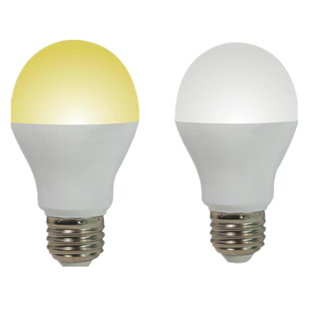 Plastic Inset Aluminum Heat Sink E27 Led Light Bulb Housing