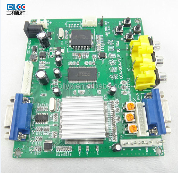 China Hot Sell Cga To Vga Game Video Signal Converter Board For ...