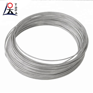 1mm thick stainless steel flexible wire hot dipped galvanized iron wire on spool