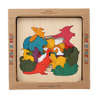Custom wholesale 3d cheap diy new Wooden Jigsaw Puzzles production simplex toys for kids