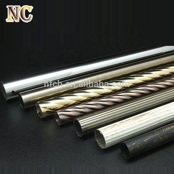 Whole Price Home Decoration Window Accessories Adjule Stainless Steel Curtain Rod