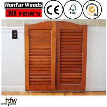 America Ash Kitchen Shutter Doors Design China Manufacturer With FSC Part 54