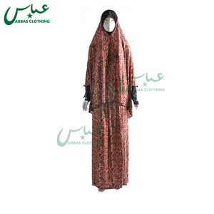 Wholesale Custom Cheap Fashion Floral Muslim Prayer Clothing Black Muslim Latest Dubai Burqa Designs